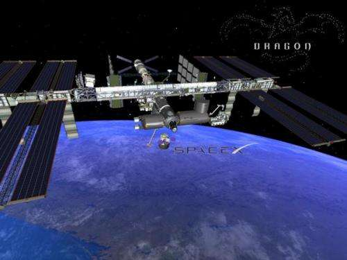SpaceX pushes for mission to space station on next flight