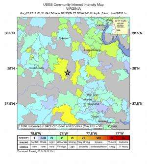 Stanford geophysicist offers insight into the Virginia earthquake