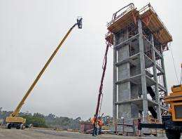 Tests to assess how elevators, fire systems perform in earthquakes