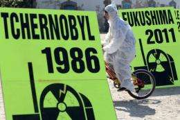 The 1986 Chernobyl explosion spewed radioactive dust and ash over more than 200,000 square kilometers