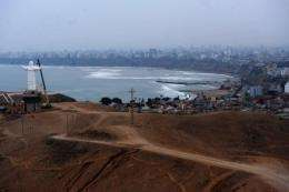The city of Lima will host a meeting of climate change experts this week
