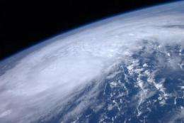The Earth is seen from aboard the International Space Station in this handout picture from NASA in August