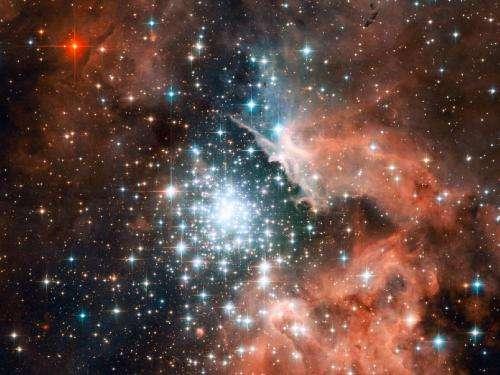 The Giant Nebula, NGC 3603