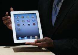 The iPad 2 is one-third thinner nearly 15 percent lighter and faster than the model released last April