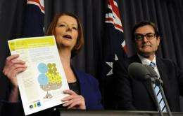 The levy will mean the nation's biggest producers of carbon emissions will be forced to pay to pollute from July 1, 2012