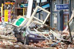 The New Zealand city of Christchurch was hit by a devastating 6.3 earthquake in February which killed 181 people