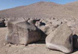 The strange rubbing boulders of the Atacama