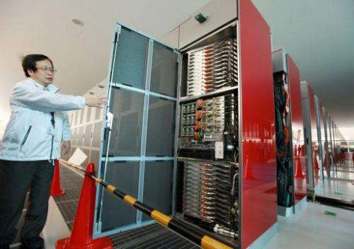 Titan will be at least twice as fast as today's fastest supercomputer, which is located in Japan