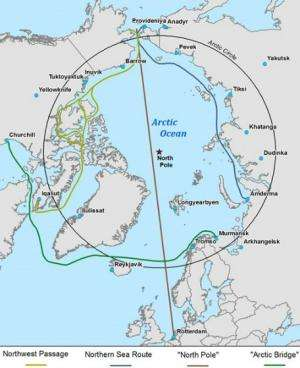 Trucks lose, ships win in warmer Arctic