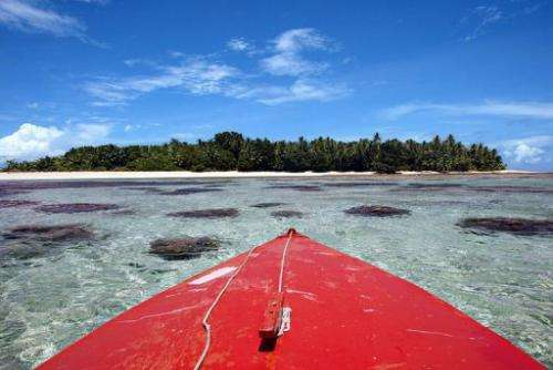 Tuvalu is reliant on rainwater collection for drinking water