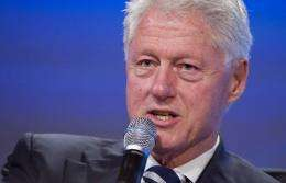 "Twenty former heads of state, including former US president Bill Clinton, warned Tuesday of an impending ""water crisis"""