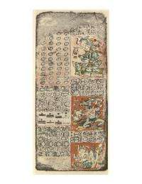 UCSB scholar's reading of hieroglyphic verb alters understanding of Mayan ritual texts