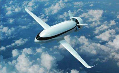 VoltAir shows off electricity powered plane concept at Paris Air Show that is slated for 2035