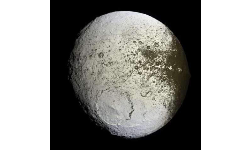 What's up with Iapetus?