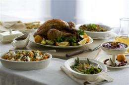 Where's the salt? Hidden in your Thanksgiving menu (AP)