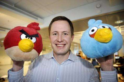 "With Angry Birds game, ""you get instant gratification in 40 seconds,"" says Rovio CEO Mikael Hed"