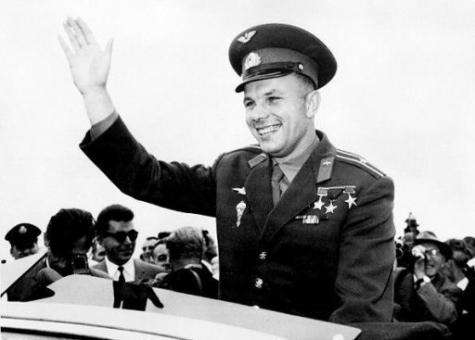 Yuri Gagarin became a global celebrity after his 108 minute spaceflight