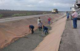 What?s the best irrigation canal liner?