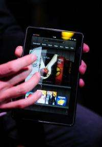 Amazon's Kindle Fire proved popular last year