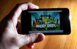 """Angry Birds"" reached more than one billion downloads in May, according to Rovio"