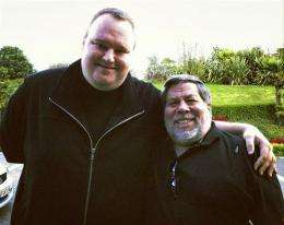 AP Interview: Wozniak, Dotcom slam US piracy case