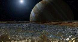 Arctic bacteria help in the search to find life on moon Europa
