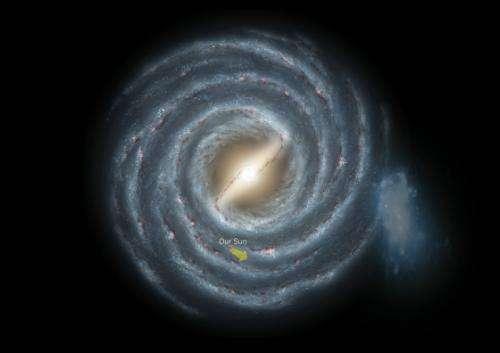 Astronomy team discovers nearby dwarf galaxy