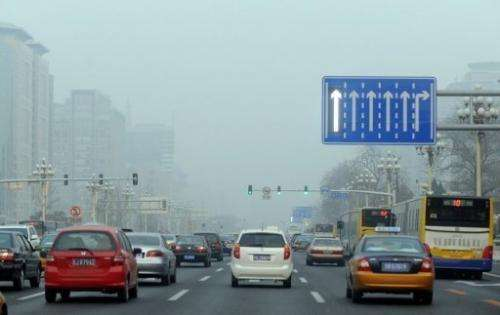 "Carbon dioxide levels are 140 percent of the ""pre-industrial level"" before 1750, the WMO said"