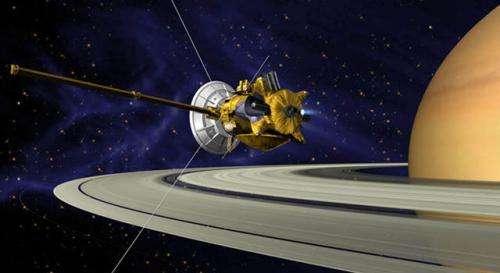 Cassini plasma spectrometer turns off