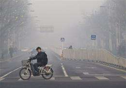 China tells US to stop reporting Beijing's bad air