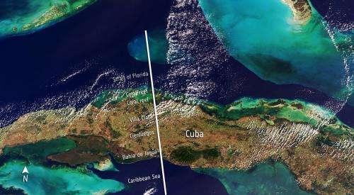 CryoSat hits land