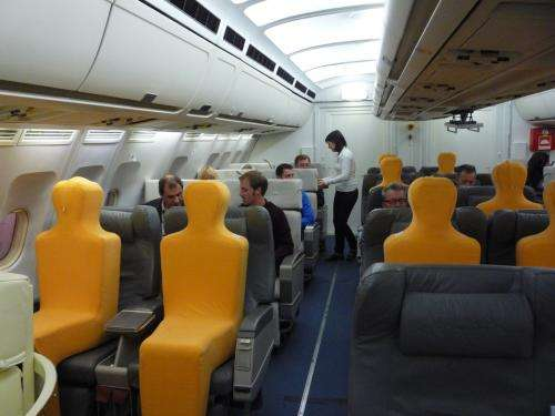 Custom-controlled climate on airplanes
