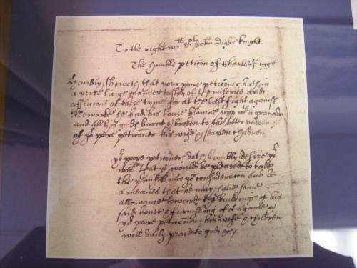 Details of the Plague preserved by Warwick historian