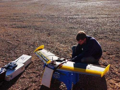 ESA tests self-steering rover in 'Mars' desert