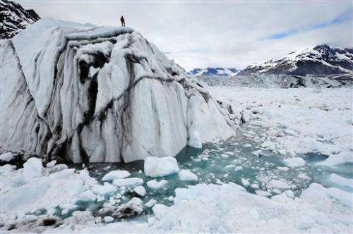 In 'Chasing Ice,' climate change gets its close up