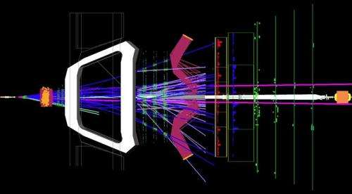 LHCb presents evidence of rare B decay