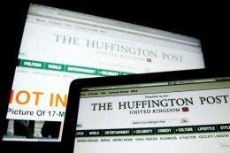 """""""L'Huffington Post"""" is being run in partnership with Italian publishing group L'Espresso"""