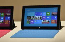 Microsoft's new Surface tablet computer