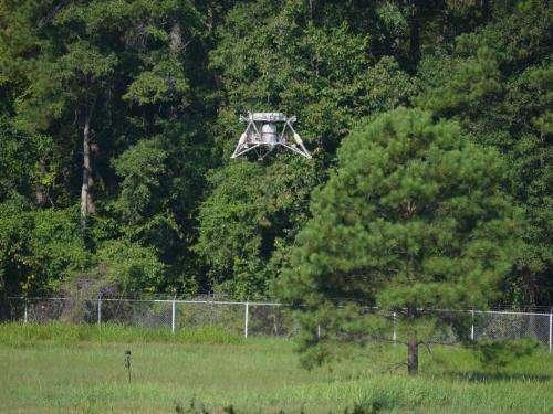 'Mighty Eagle' robotic lander finds its target