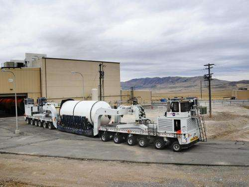 NASA building a better solid rocket booster for space launch system rocket