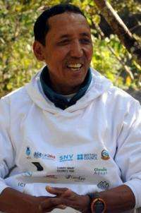 "Nepalese mountaineer Apa Sherpa is dubbed the ""Super Sherpa"" after scaling Mount Everest a record 21 times"