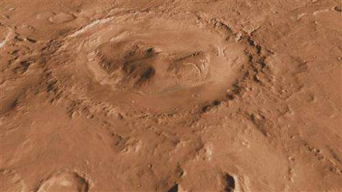 New Mars rover to land in intriguing giant crater