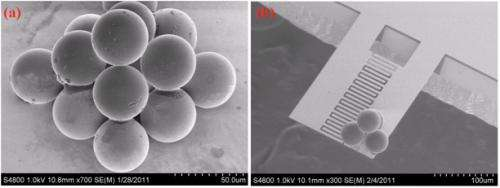 New microtweezers may build tiny 'MEMS' structures