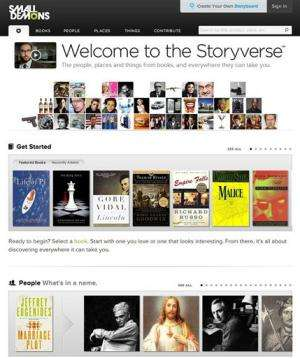 New search engine connects literary dots