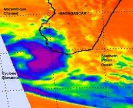 Rain-soaked Madagascar again threatened by Cyclone Giovanna