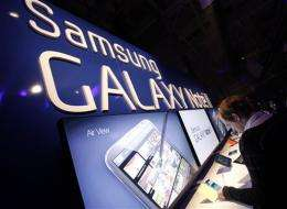 Samsung logs record high profit in 3Q