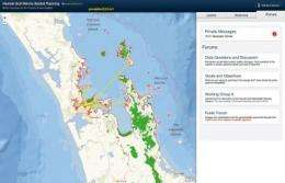 SeaSketch, the next generation of UCSB's MarineMap program, will aid marine spatial planning