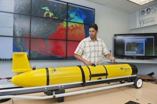 Shark migrations studied with underwater robot along Delmarva Peninsula