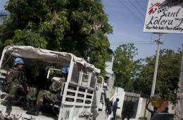 Source of Haiti cholera bug goes under microscope