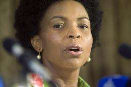 South African Minister of International Relations and cooperation Maite Nkoana-Mashabane